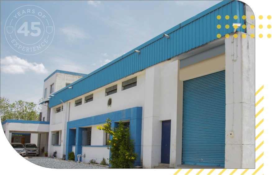 Front view of Office of  Techplaastic Industrie P Ltd -the best injection moulding company in India