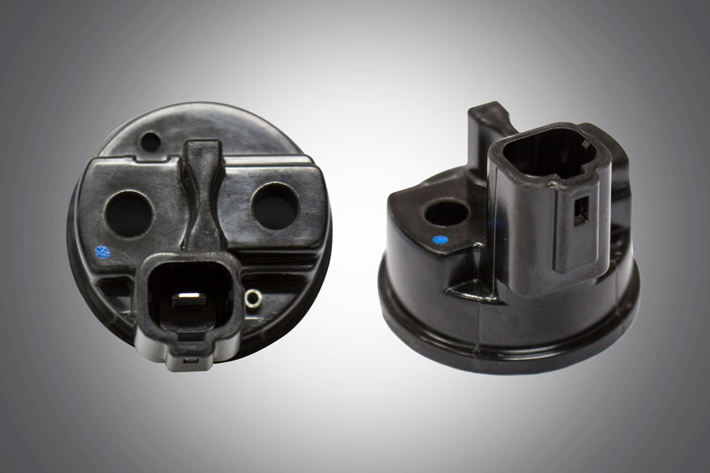 Black Colour Thermoset Injection moulded components manufactured by TPI